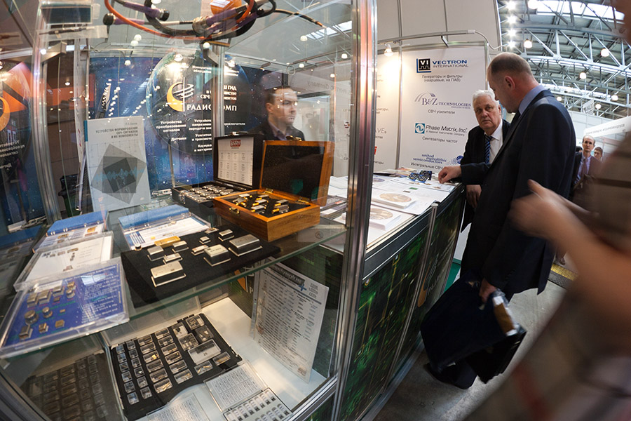 RADIOCOMP, LLC AT EXPOELECTRONICA-2013 EXHIBITION