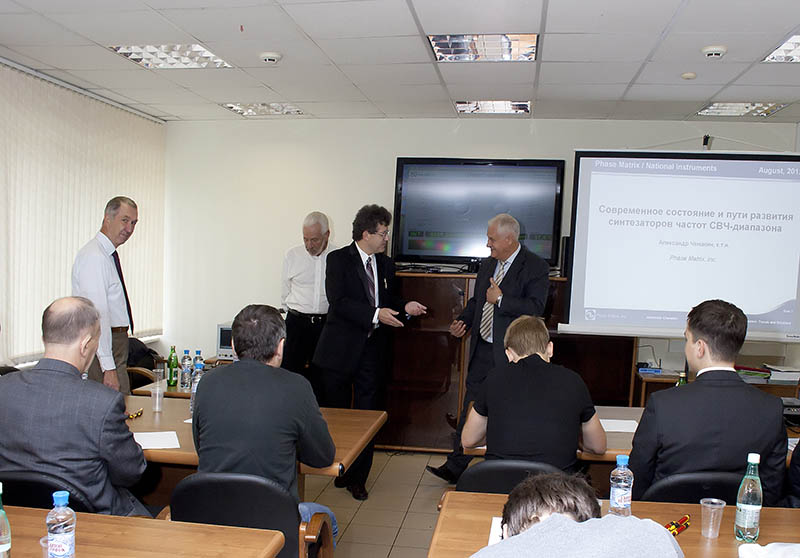Presentation of the company Phasematrix on August 30-31, 2012