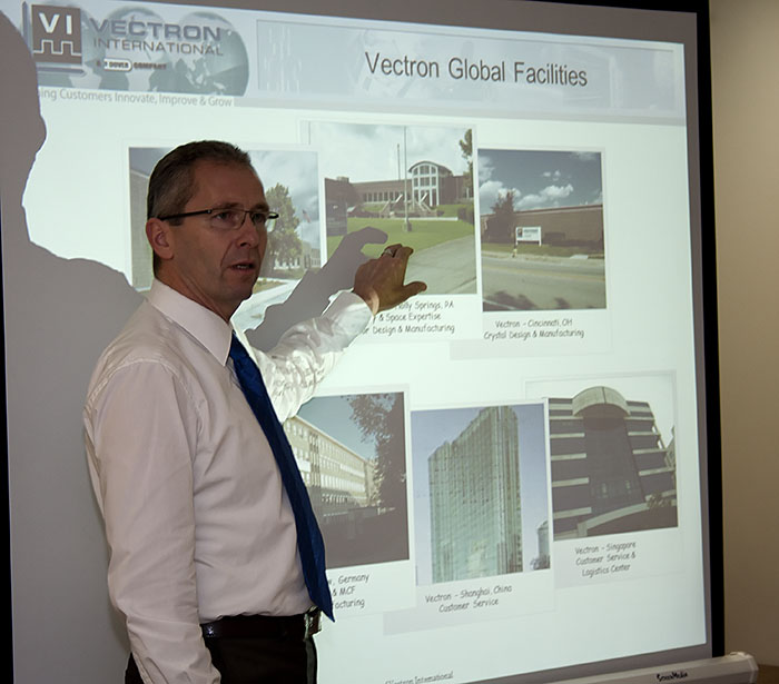 Presentation of the company Vectron International on November 8, 2012